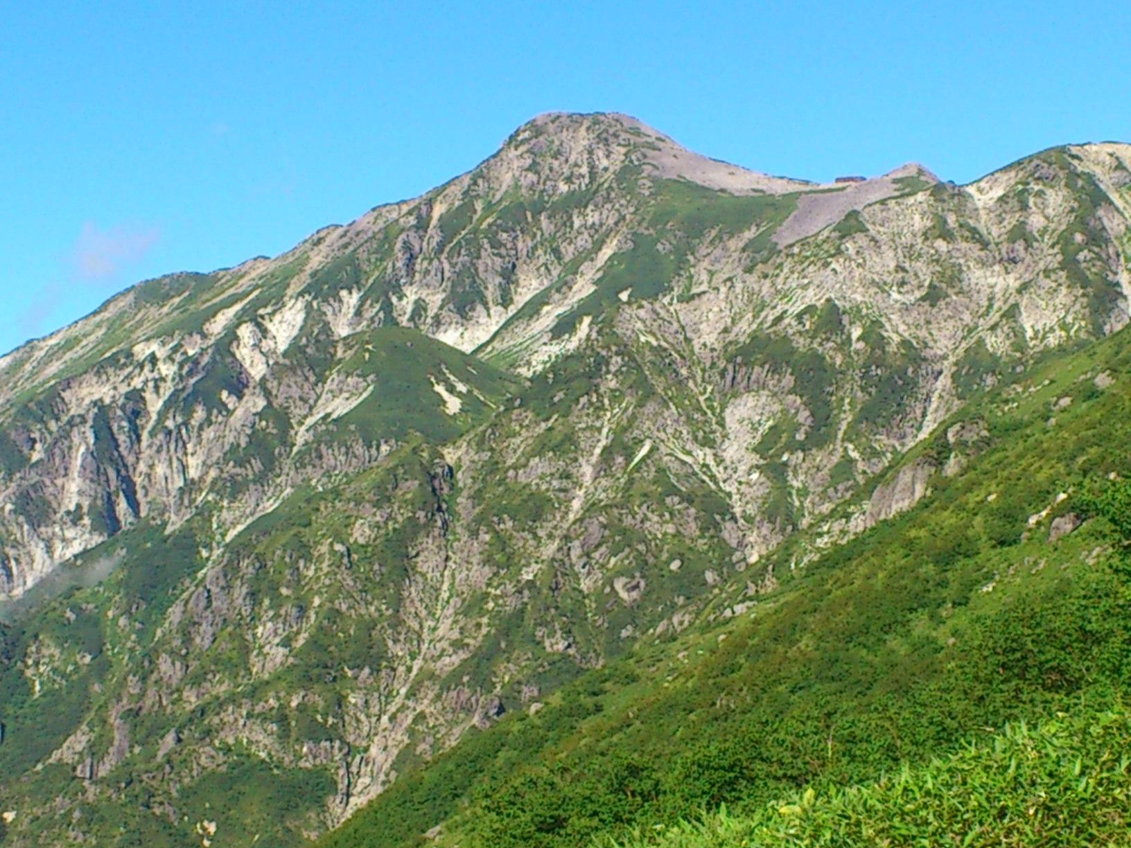 笠ヶ岳2898m